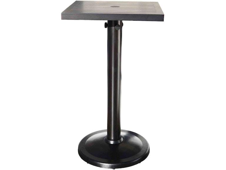 CabanaCoast Furniture SB OutdoorPatio Monaco Square - Square pedestal pub table