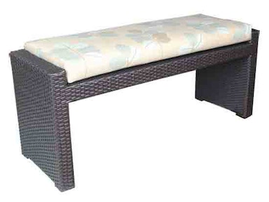 CabanaCoast Furniture Chelsea 48in. Dining Bench 8498