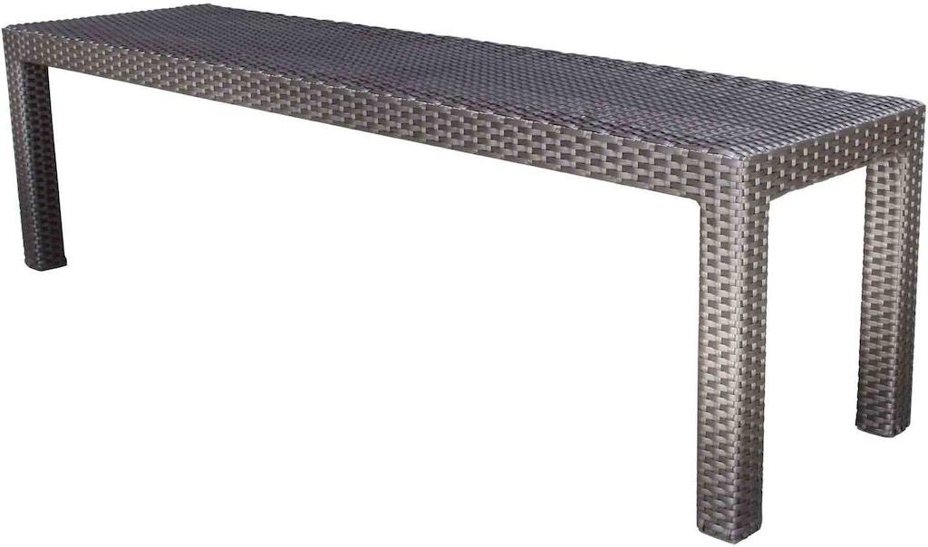 Brilliant Cabanacoast Furniture 9189 5 Outdoorpatio Flight 60 Dining Bench Alphanode Cool Chair Designs And Ideas Alphanodeonline