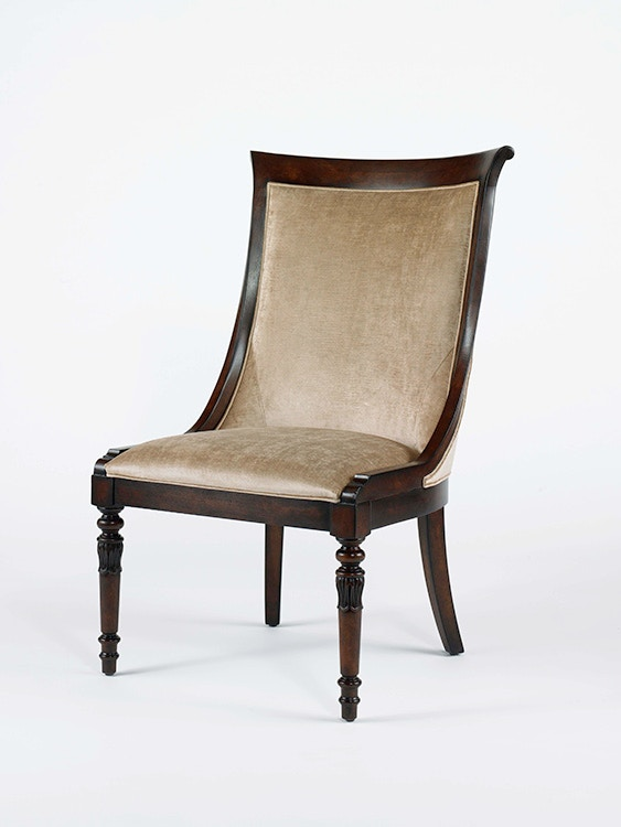 Where to find Tufted Fabric WingBack Dining Chair
