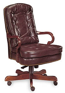 Beau Century Furniture Gooseneck Executive Chair 3640R