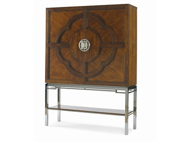 Century Furniture Chin Hua Lotus Bar Cabinet 699-462