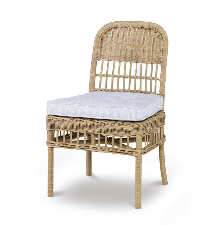 Century Furniture Mainland Wicker Dining Side Chair Ae D40 51 Nt