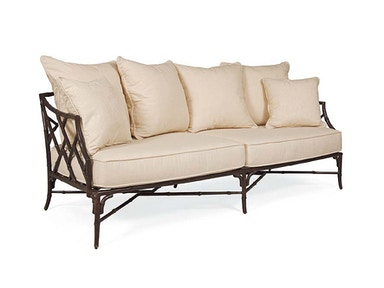 Century Furniture Orient Orient Loveseat Crafted From: Powder Coated Aluminum D20-42-1
