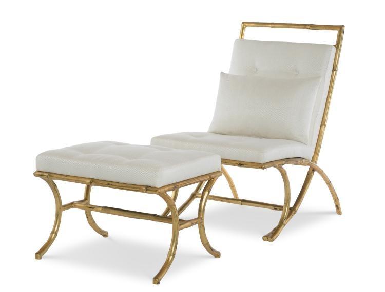 Merveilleux Century Furniture Beaufort Bamboo Chair I2 11 1041
