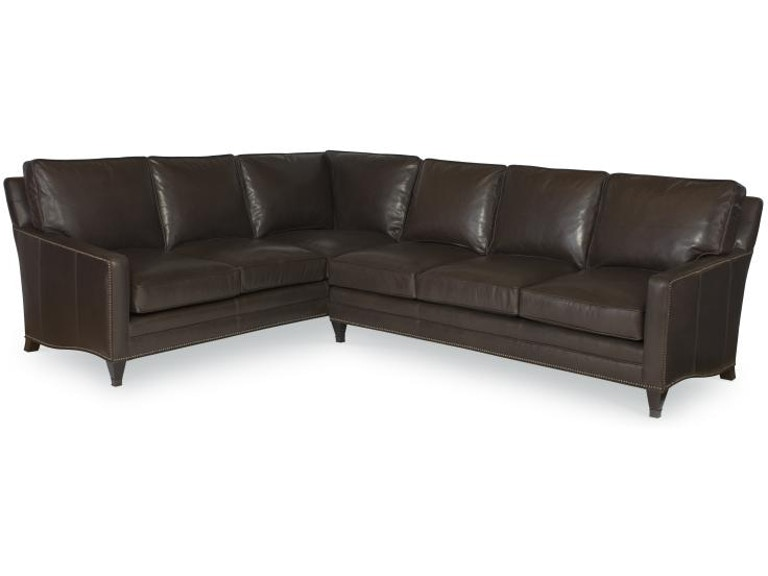 Century furniture living room century leather essex corner for Lr furniture