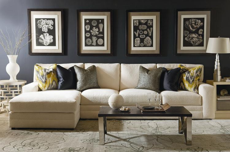Century Furniture Century Home Elegance Cornerstone Raf Sofa Ltd7600 52