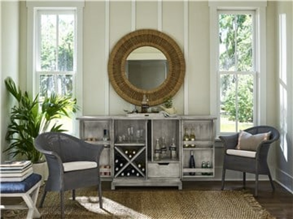 Coastal Living By Universal 833a690 Dining Room Escape Bar Cabinet