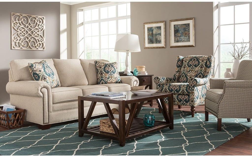 Craftmaster Furniture 756550 Living Room Sofa