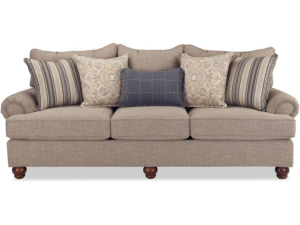 Craftmaster Furniture Three Cushion Sofa 797050PC