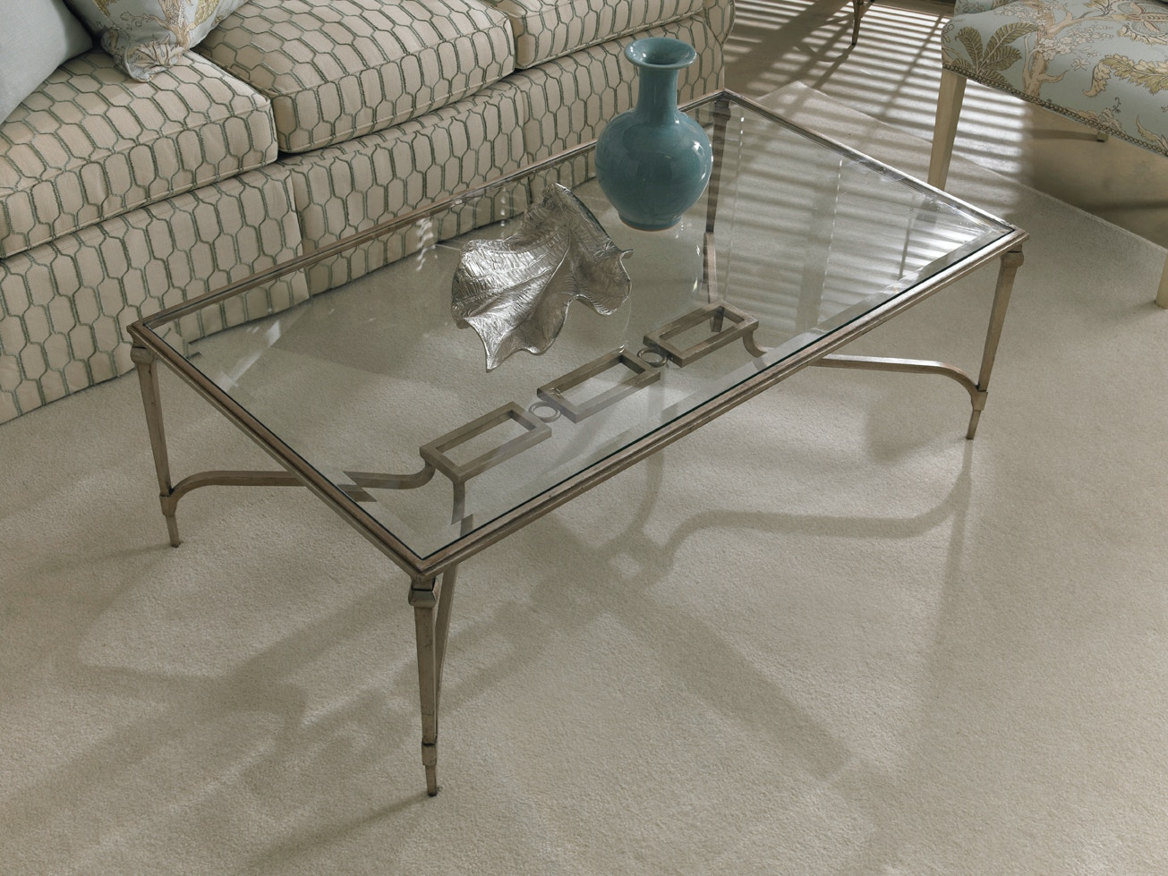 Beautiful CTH Sherrill Infinity Cocktail Table 964 852