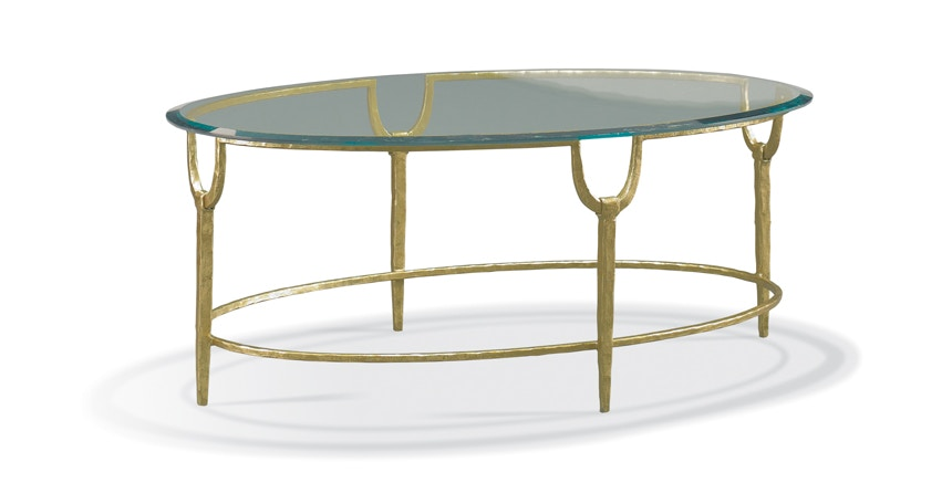 Nice CTH Sherrill Trifecta Oval Cocktail Table 965 114G