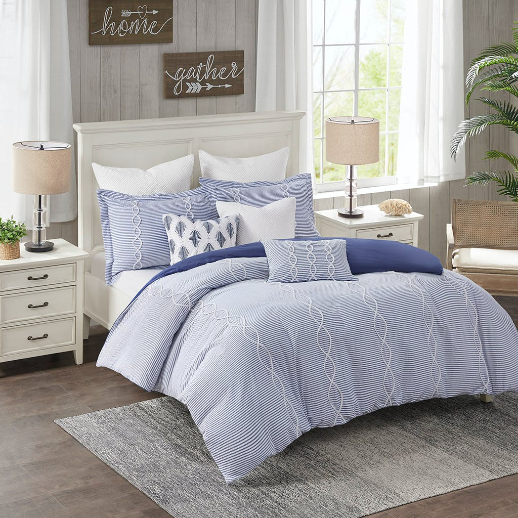 Hampton Hill Bedding Mps10 439 Bedroom Coastal Farmhouse Comforter Set