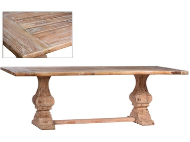 Dovetail Furniture Dov1000 Dining Room Montecito Dining Table