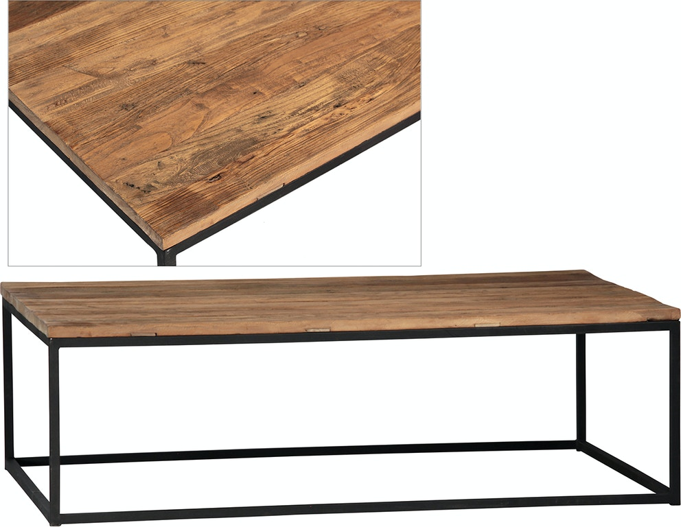 Dovetail Furniture Dov108 Living Room Chelsea Coffee Table
