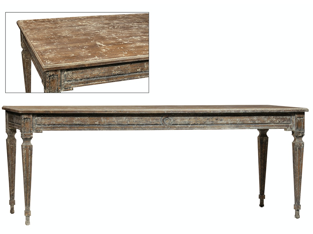 Dovetail furniture dov2110 dining room kingsale dining table for Dovetail furniture