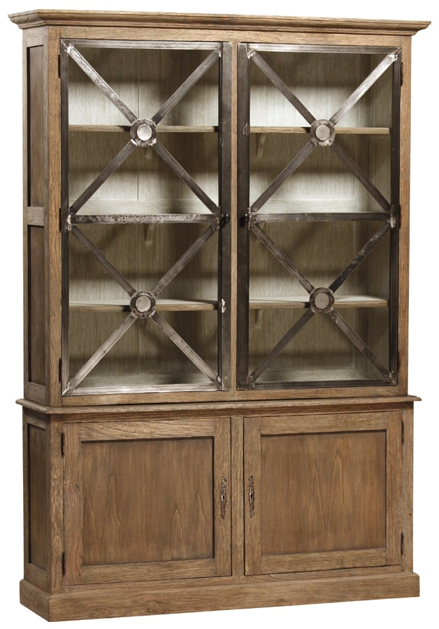 Dovetail Furniture DOV2319 Living Room Austin Cabinet