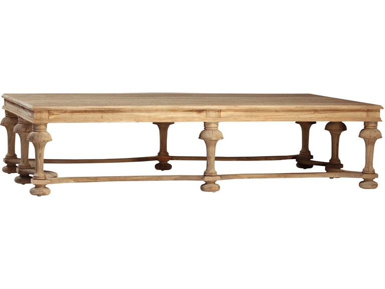 Dovetail Furniture Dov2462 Living Room Cohen Coffee Table