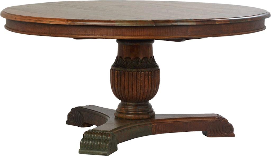 Dovetail Furniture Dov2777 Dining Room Beck Round
