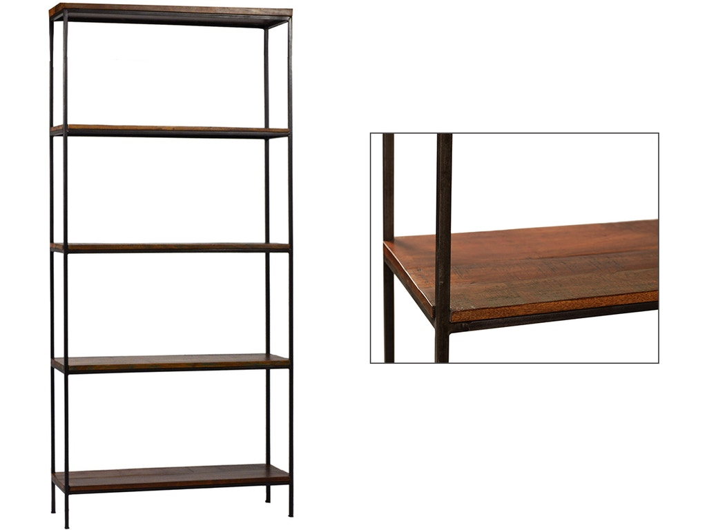 Dovetail furniture home office madison bookcase dov2879 for Dovetail furniture