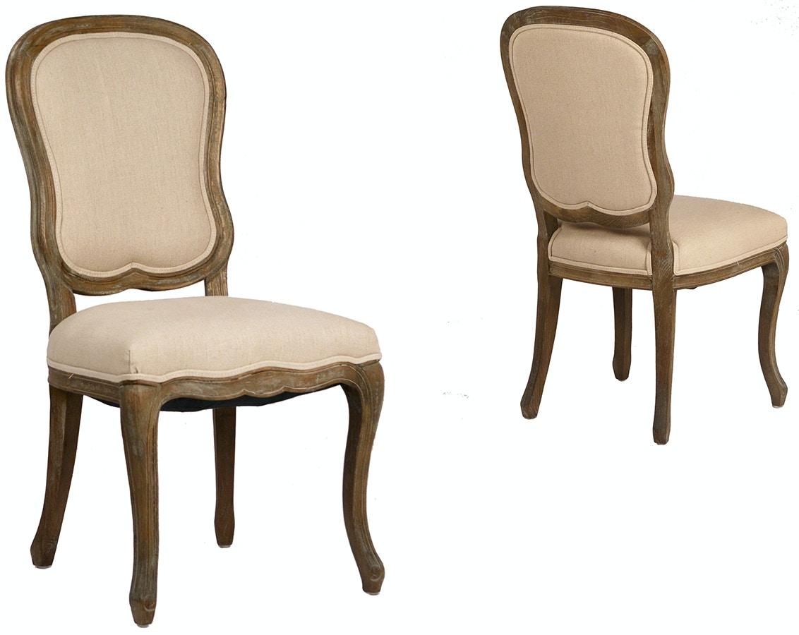 Dovetail furniture dov300 dining room provence dining chair for Dovetail furniture