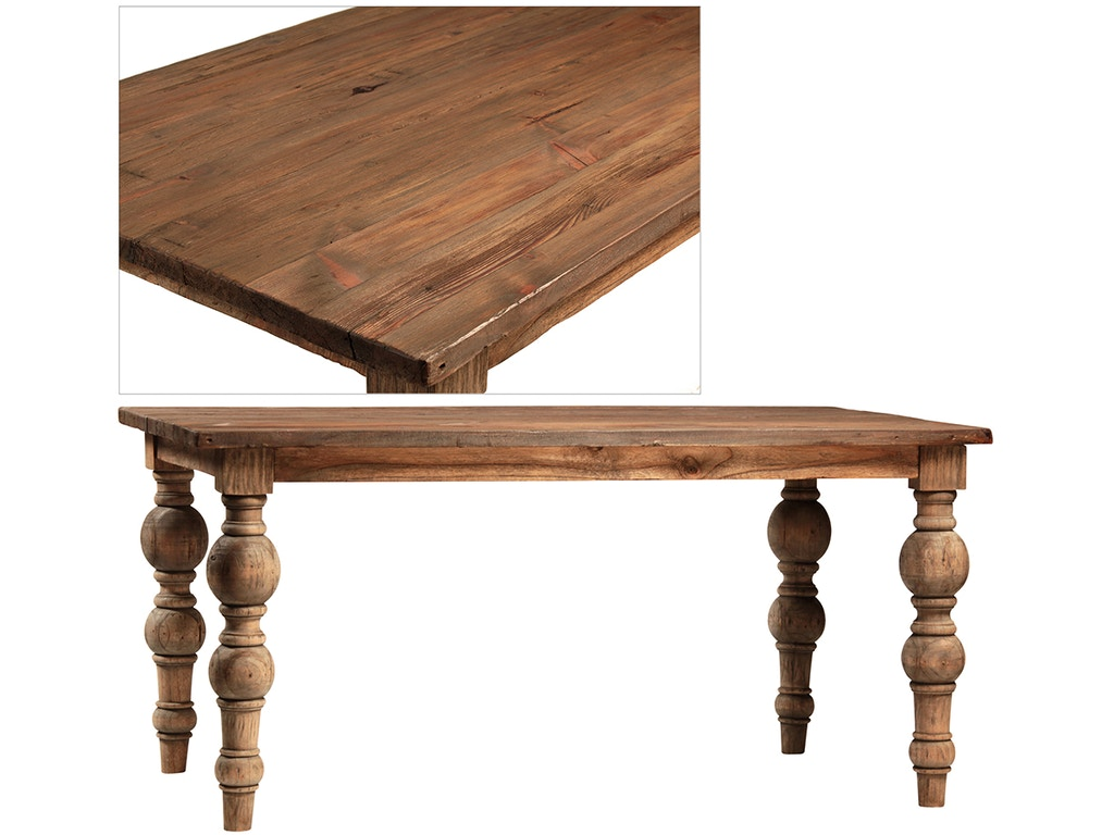 Dovetail furniture dining room campbell 62 dining table for Dovetail furniture
