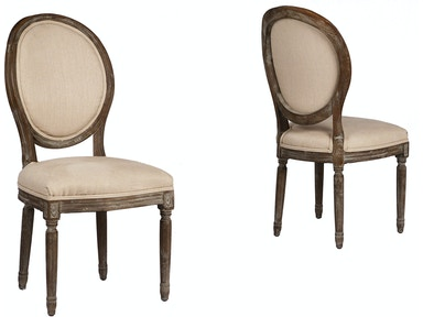Dovetail Furniture Dov857 Dining Room Cassis Dining Chair