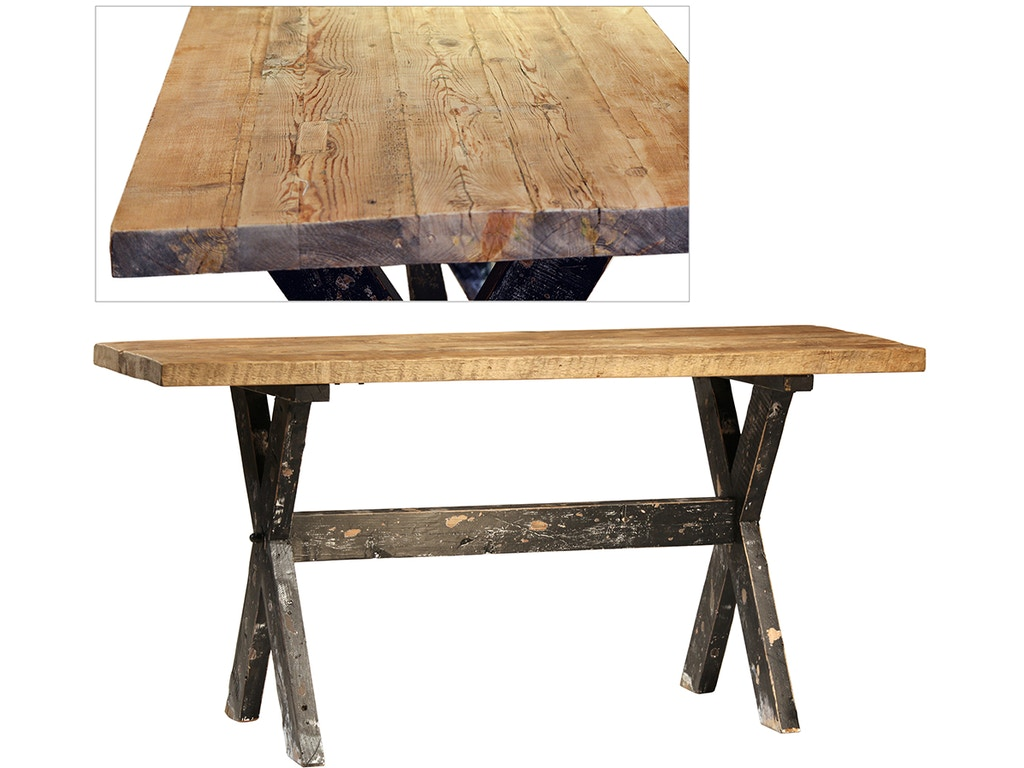 Dovetail furniture living room puebla counter table 72 for Dovetail furniture