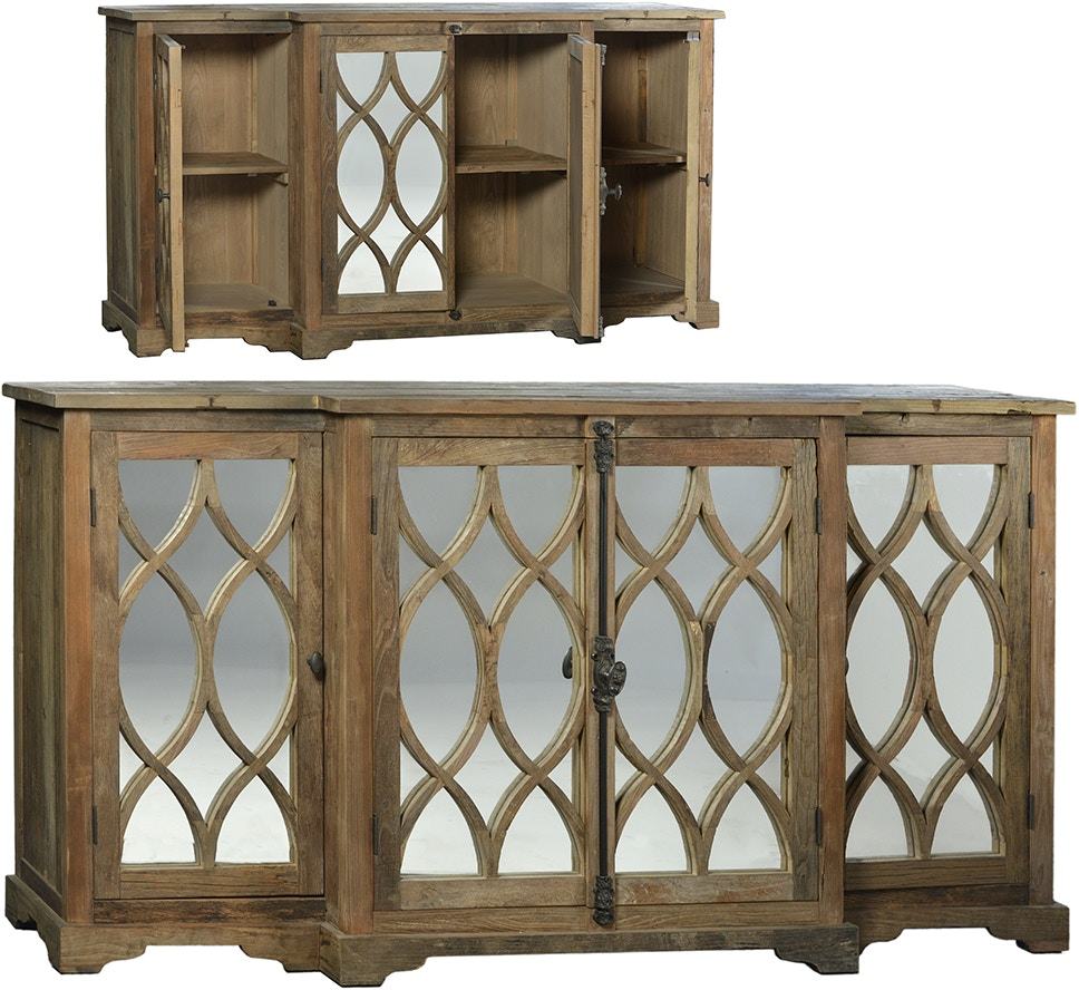 Dovetail Furniture Dov9805 Dining Room Hudson Sideboard