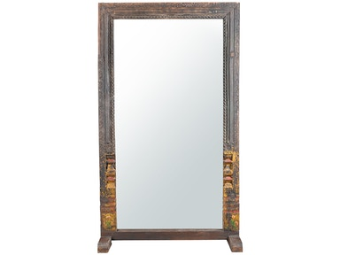 Mirrors by dovetail furniture for Types of mirror frames