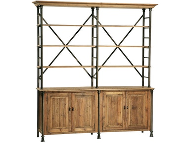 Dovetail Furniture Portebello Bookcase DOV035
