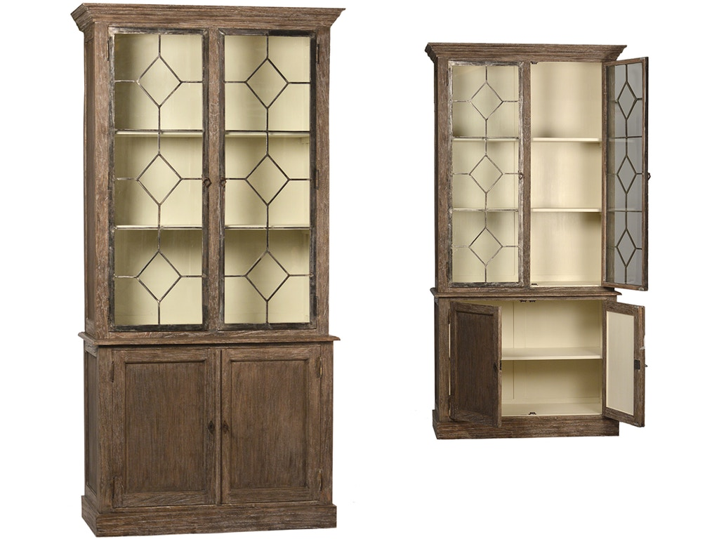 Dovetail furniture living room ewing cabinet dov2372 for Dovetail furniture