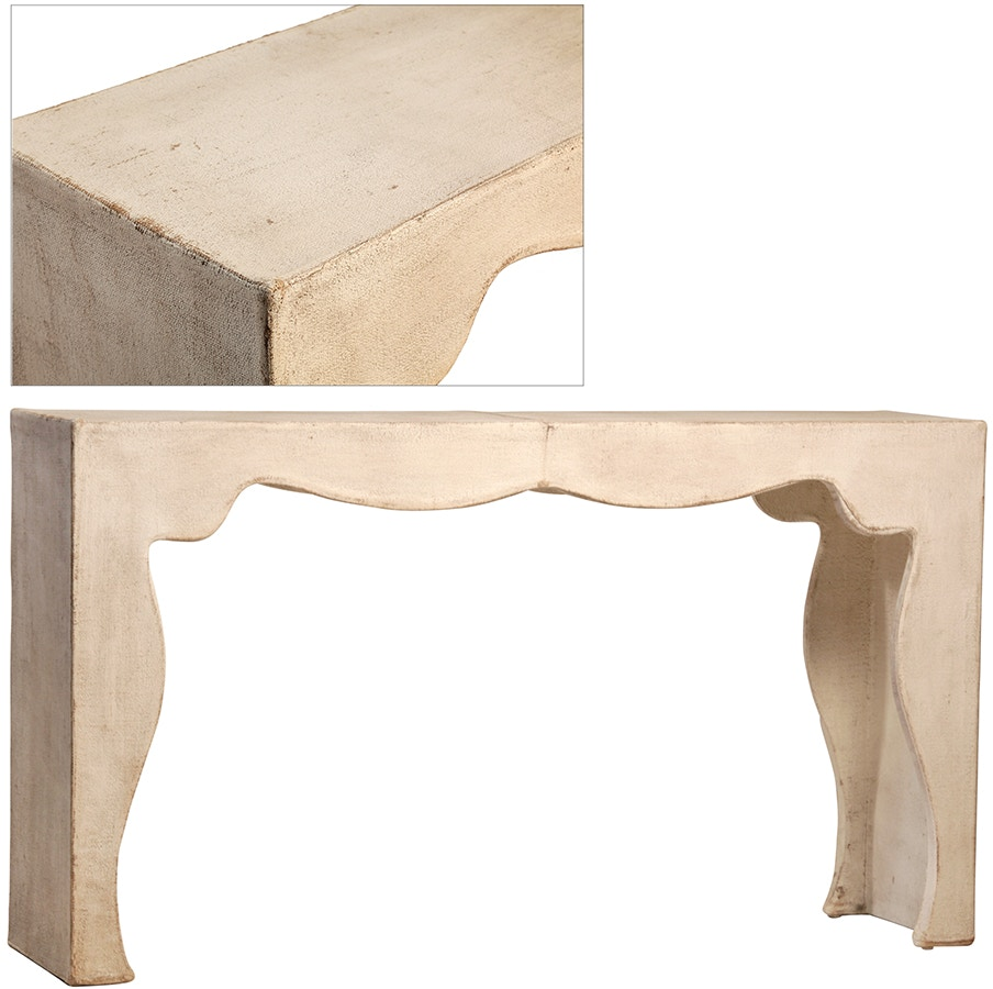 Dovetail Furniture Living Room Herman Wall Table DOV3407