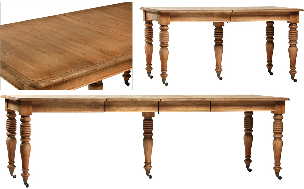 Dovetail furniture dov5091 dining room chichester dining table for Dovetail furniture
