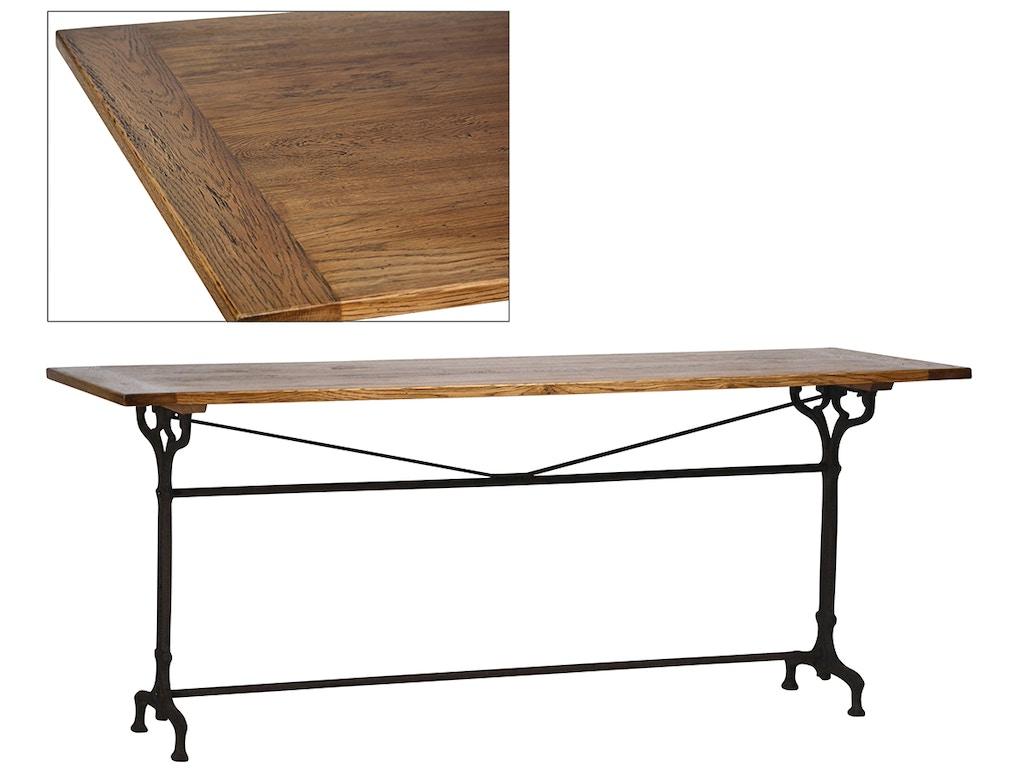 Dovetail furniture dining room kenton dining table dov5153 for Dovetail furniture