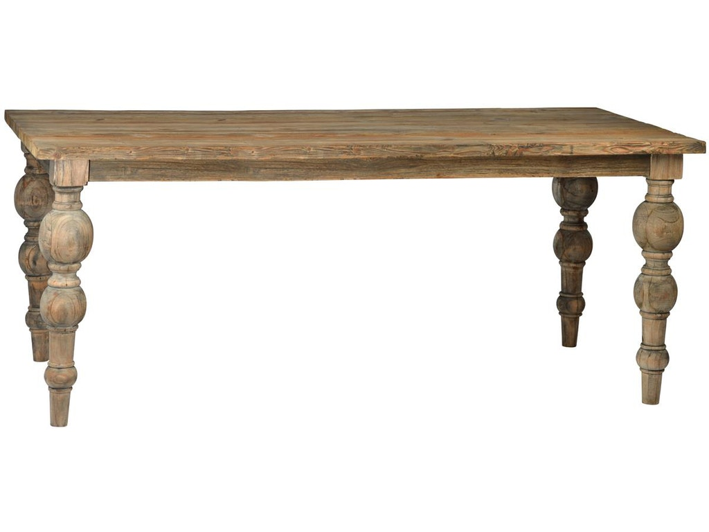 Dovetail Furniture Dov7704 Dining Room Campbell 86 Dining