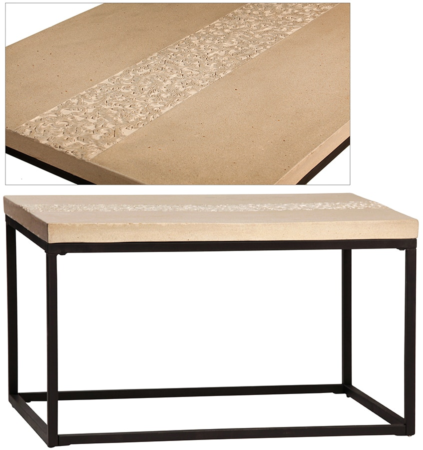 Dovetail Furniture Living Room Mayes Coffee Table DOV8710