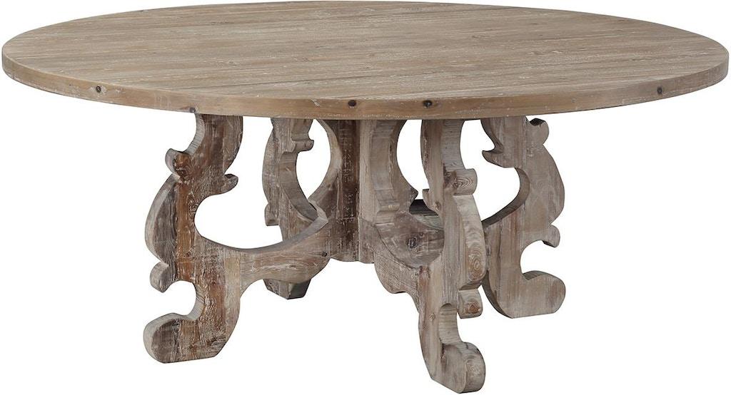 Dovetail Furniture Dov9713 Dining Room Lisbon Table