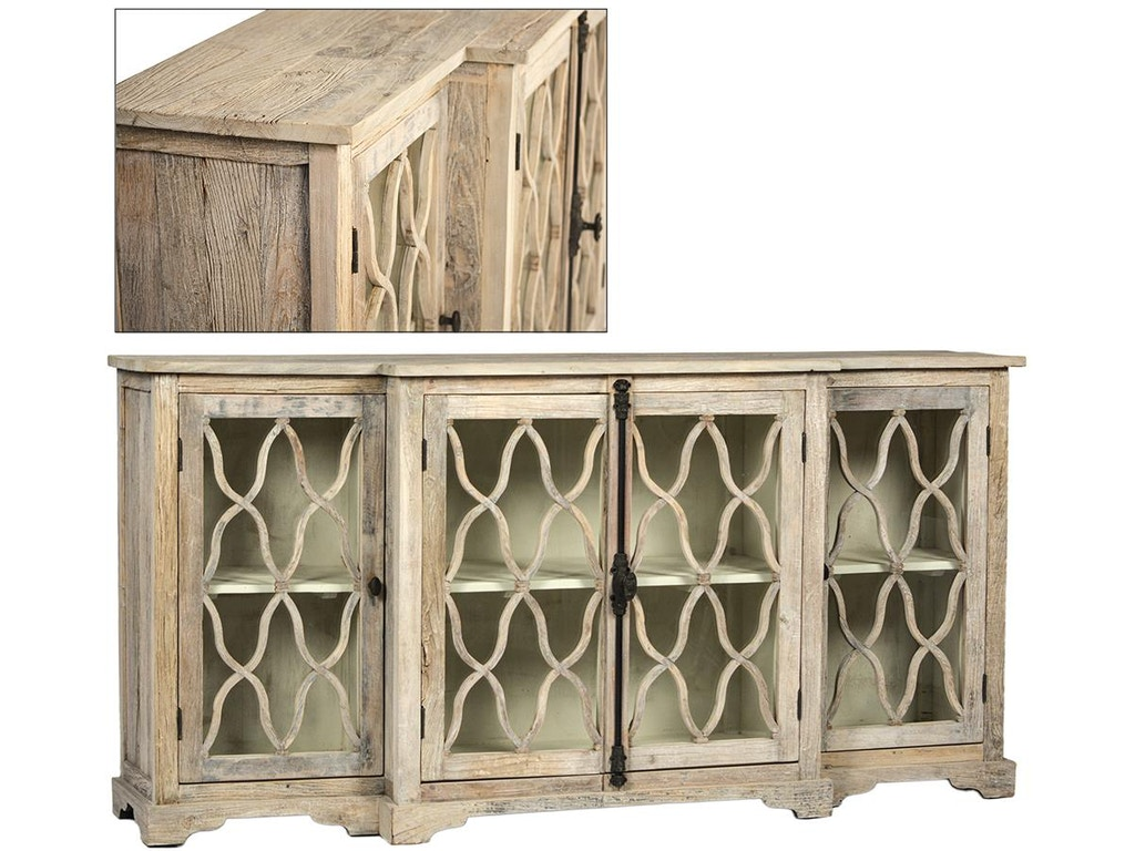 Dovetail furniture living room digby sideboard dov9852 for Dovetail furniture