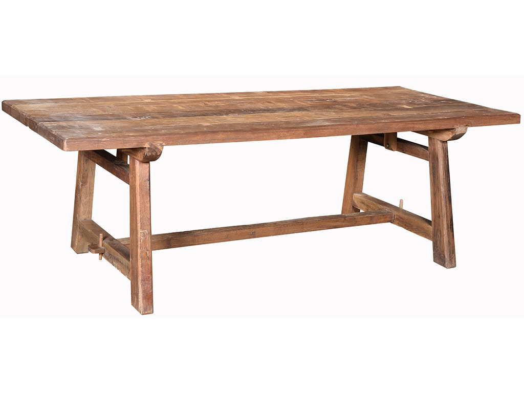 Dovetail furniture dining room solano dining table 96 ra6402 for Dovetail furniture