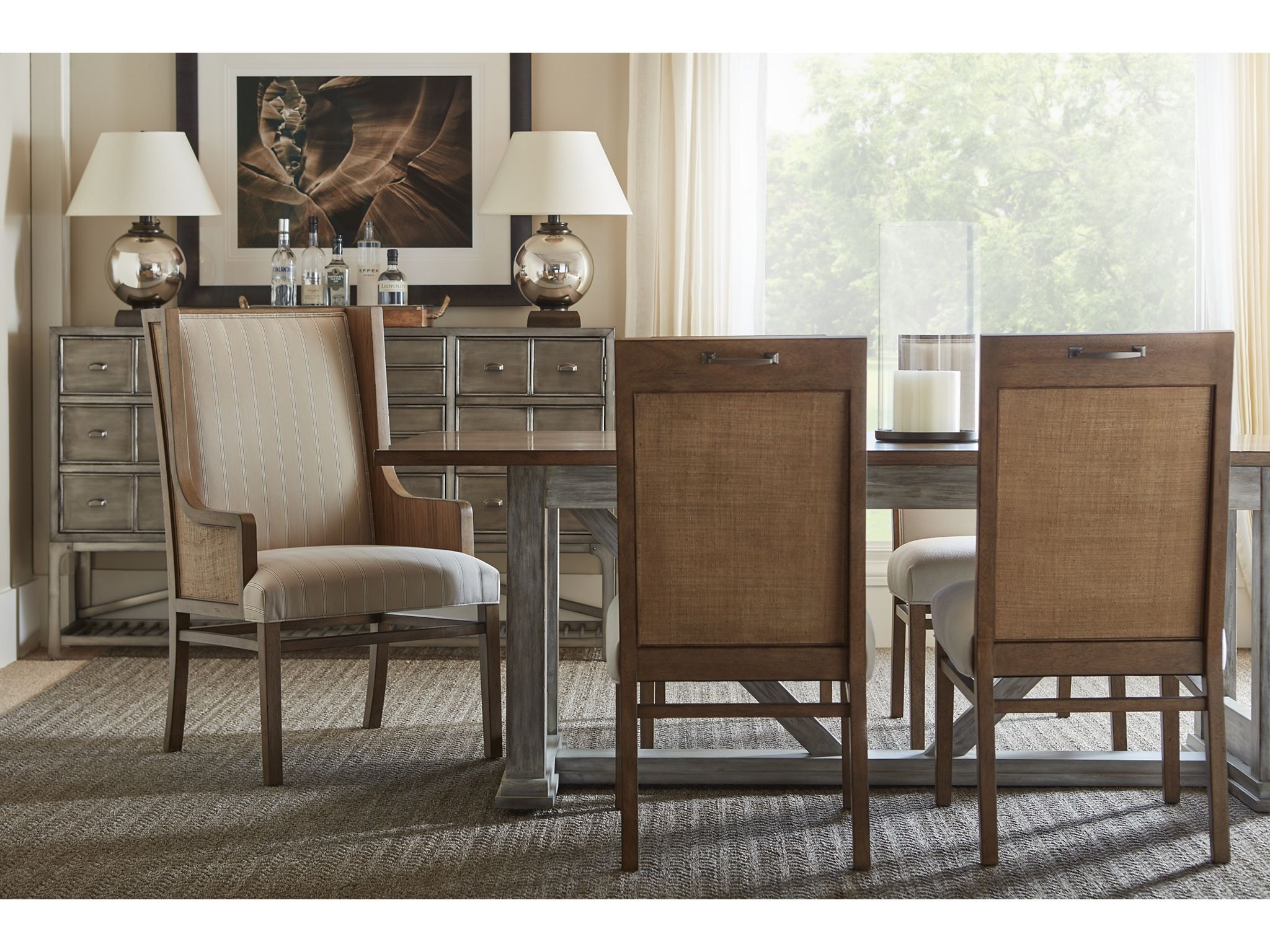 Drexel Furniture Montauk Trestle Dining Table 325 660