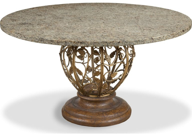 drexel furniture 587 695 dining room venezia dining table pedestal