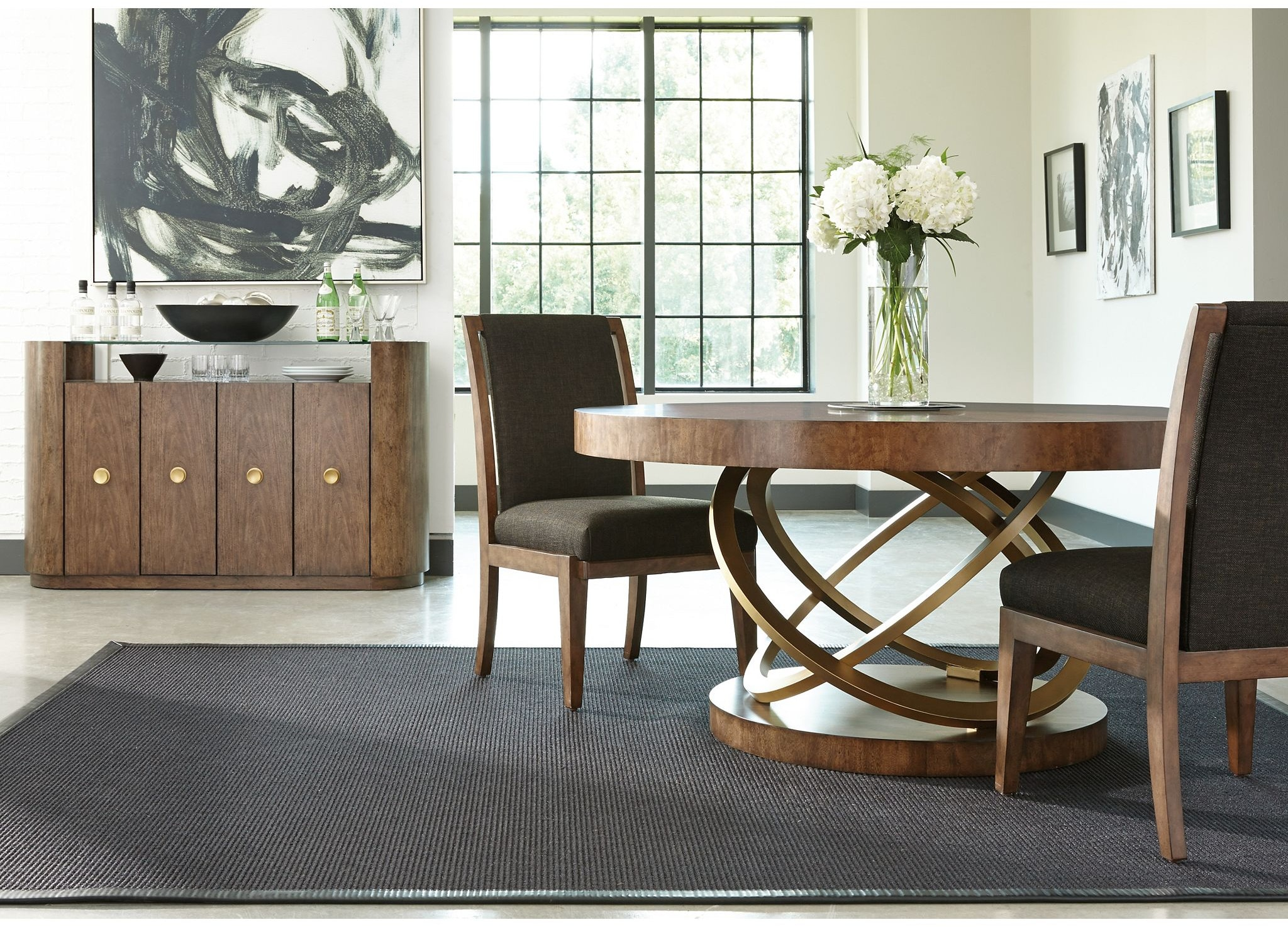 drexel furniture 930 620e dining room serra dining table