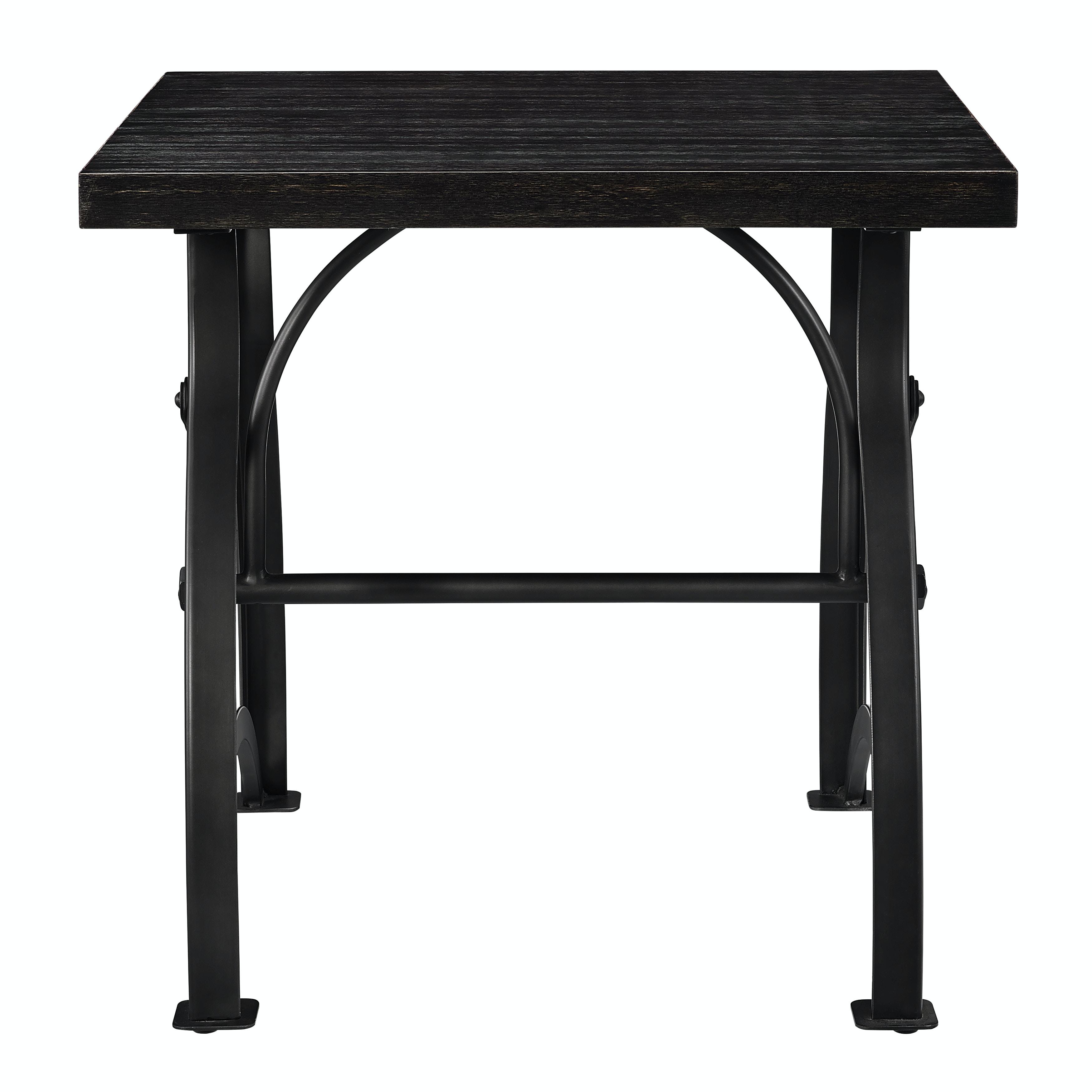 Pulaski Furniture Industrial Metal Brace End Table DS D080