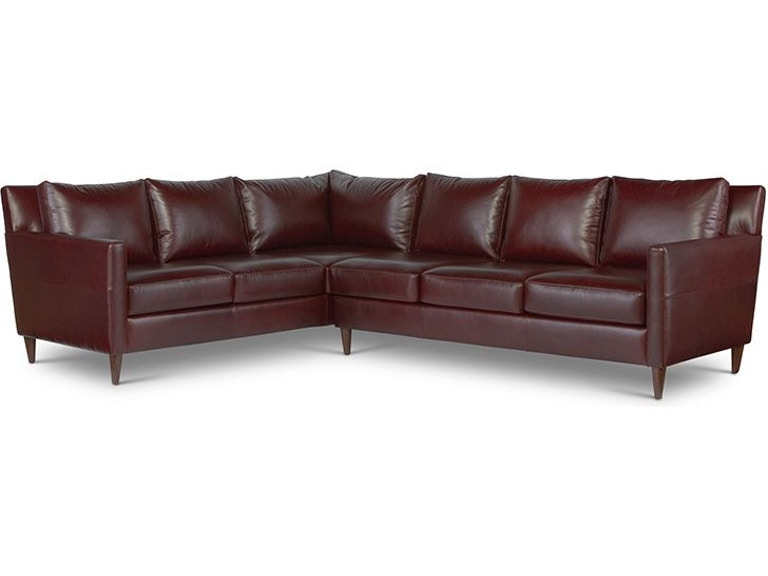 Elite Leather Sectionals Aero Sectional