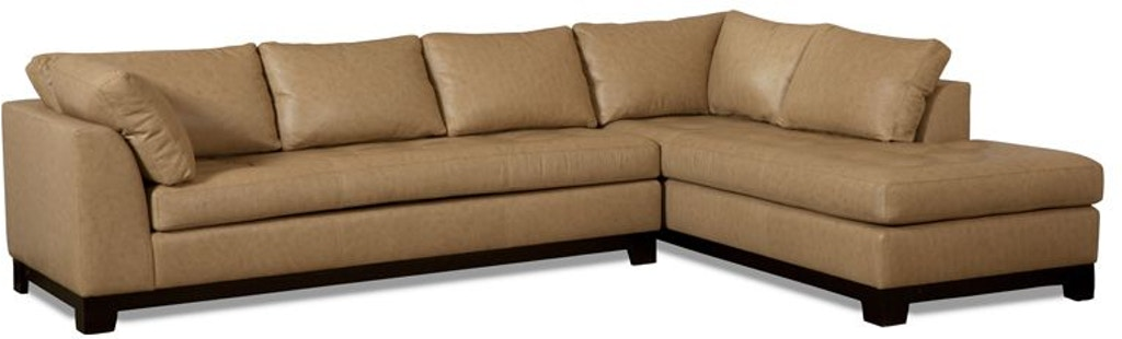 Elite Leather Sectionals Century City Sectional