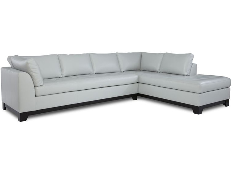 Century City Sectional Elite Leather Sectionals