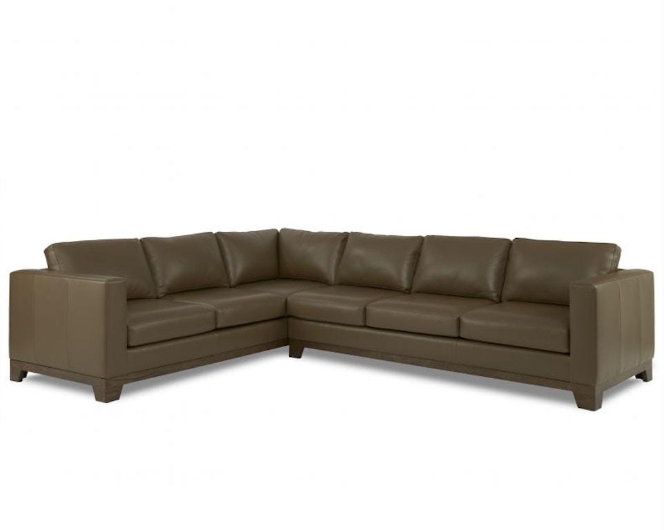 Terrific Elite Leather Dylan Sectional Living Room Sectionals Inzonedesignstudio Interior Chair Design Inzonedesignstudiocom