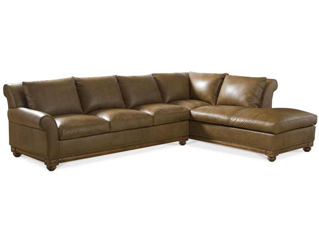 Elite leather living room sectionals echo park sectional for Sectional sofa north carolina