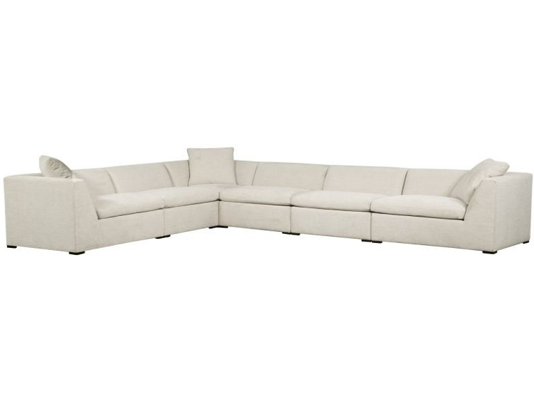 Elite Leather Flex Living Room Sectional